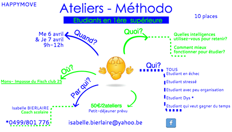 Atelier methodo 6 et 7 avril isa